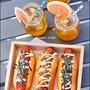 自家製バンズ@Japadog風 Hot dogでお庭ランチ☆★