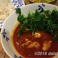 カフェ飯風、牡蠣とクレソンのスープカレーのレシピ