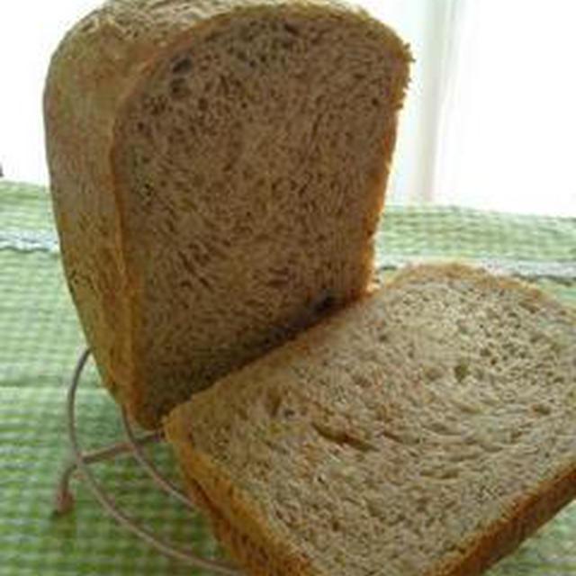 早焼き!メープル白ごまパン