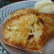 フランスパンで:フレンチトースト&クロックムッシュ
