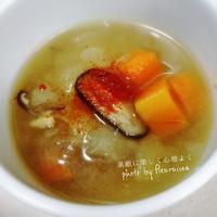 ◼️朝ごはんに役立つGABANスパイス♡パプリカで彩り「新玉ねぎのとろとろベジタブルスープ」♡