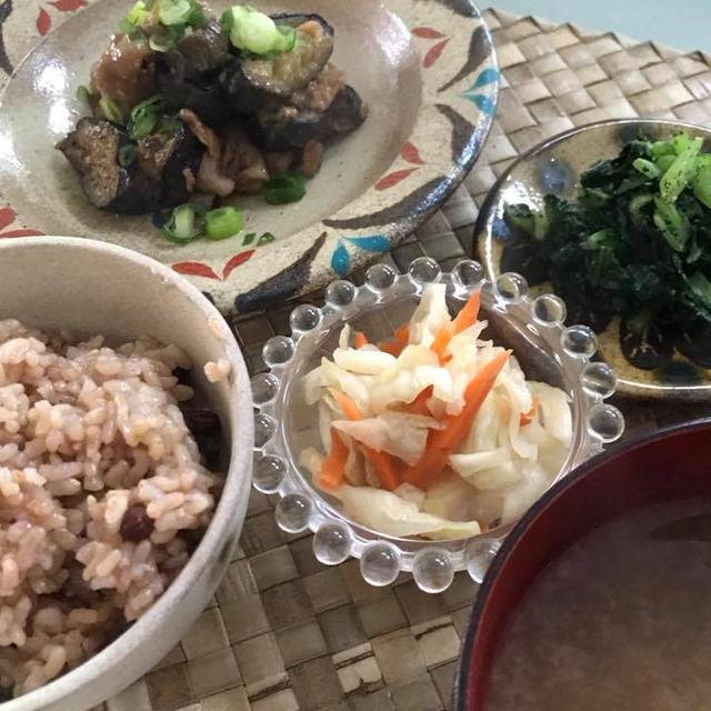 発酵玄米と和おかず