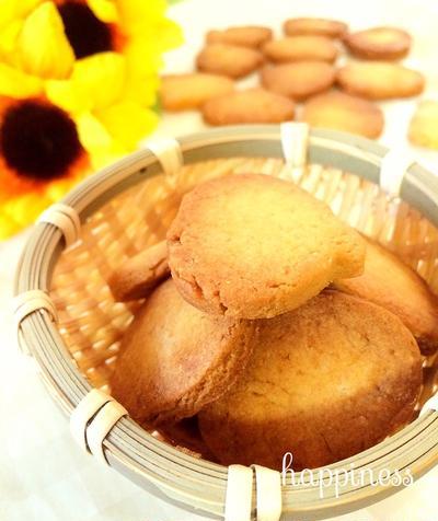 白砂糖バター不使用!かぼちゃ生姜クッキー