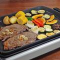 彩り野菜たっぷり!サーロインステーキのスタミナ満点BBQレシピ