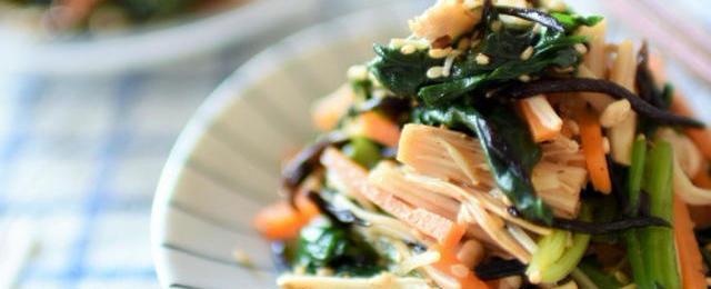 栄養たっぷり!「ひじきのナムル」で副菜のバリエーションを増やそう