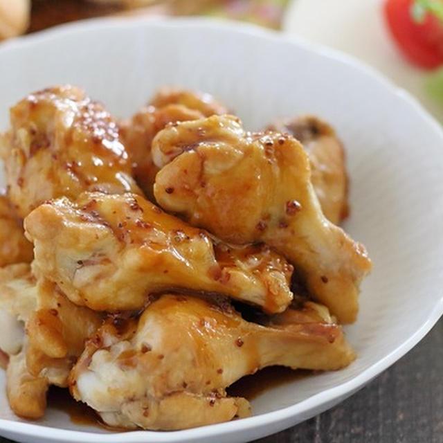 粒マスタード入り照り焼きチキン|手羽の人気レシピ4選付き