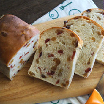 ★オーガニック小麦&酵母のレーズン食パン