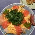 簡単に!!サーモンのっけのちらし寿司 by watakoさん