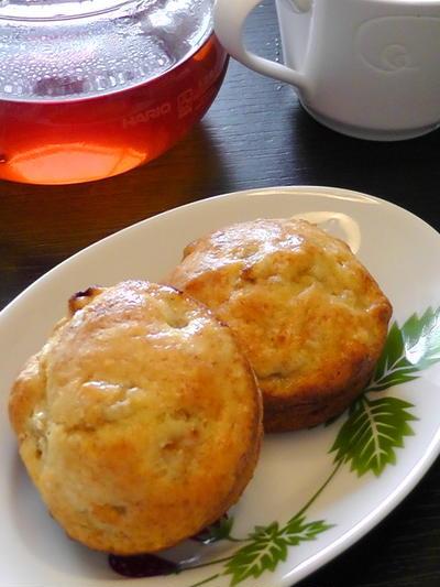 卵&バター不使用のヨーグルトマフィン