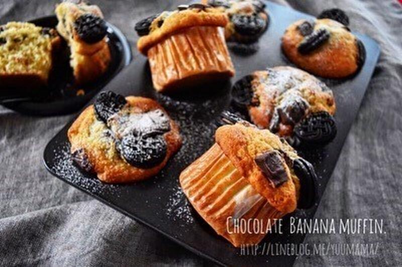 ホットケーキミックスで簡単&失敗なし!「チョコレート×バナナ」のお菓子