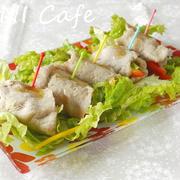 生姜味噌豚ロール