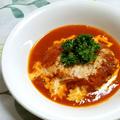 トマトソース煮込みハンバーグ