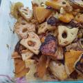 バタースクワッシュ南瓜で滋養に良いお惣菜。。。♡(=^・^=)♪