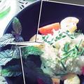 巨ヒラメのスープなしアクアパッツアライス♪