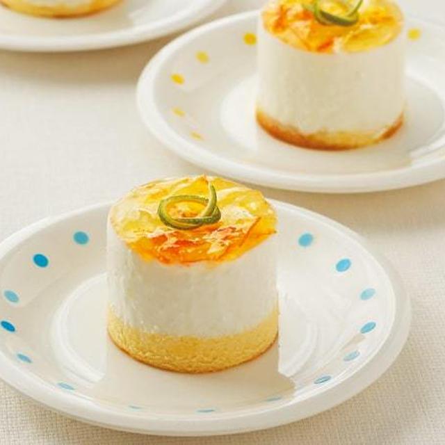 水切りヨーグルトで作る低カロリーなのに濃厚なレアチーズケーキのレシピ/作り方
