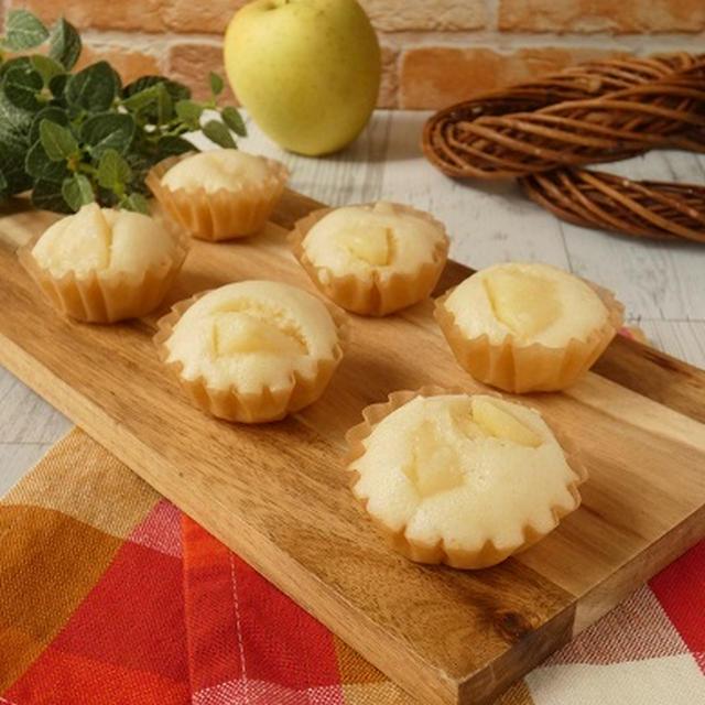 オリゴ糖シロップのりんご蒸しパン