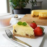 ±0暮らしのレポーター:ミキサーで簡単!ラムレーズンチーズケーキ