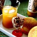 大地の恵み・・パイナップルジュースと金柑酵母パンと♪