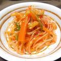 『ビビン麺風♪ 韓国春雨サラダ どすぇ』 初めてのけん引 【アクアさん】
