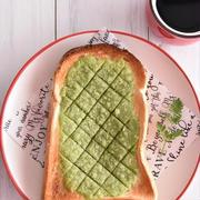 メロンパン風♪ほろ苦 抹茶トースト