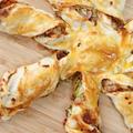 【冷凍パイシートをねじる!】簡単タコ焼きピザの作り方