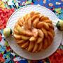 『フレッシュ桃のタルト』