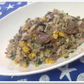 牛肉チャーハン人気レシピ!【簡単】焼肉のたれ&ガーリックバター