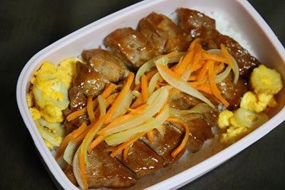 9月28日  豚肉のソテー弁当