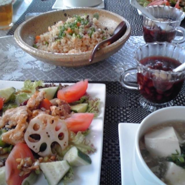 8月前半 家庭料理中華