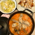 牡蠣ぷっくり キムチたっぷり「赤いおからチゲ」。 by イェジンさん