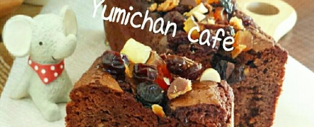 ホットケーキミックスで簡単!リッチな味わい「チョコパウンドケーキ」5選