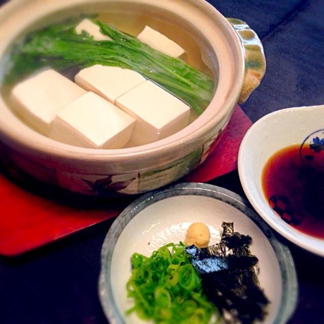 誰でもできる本場!「京都の湯豆腐」