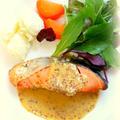 鮭のレモンマスタードソース by mariaさん