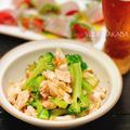 低カロリーおつまみ!ササミとブロッコリーのピリ辛薬味和え 〜茹でササミの簡単副菜5選〜