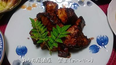 ぱさつかずしっとり焼けました。 カジキマグロの生姜焼き