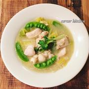 グルテンフリー鶏肉と白菜のクリーム煮