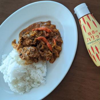 「新ペーストでやみつきの風味、おいしさ広がる簡単レシピ」モニター参加中。ハウス 魅惑のハリッサ