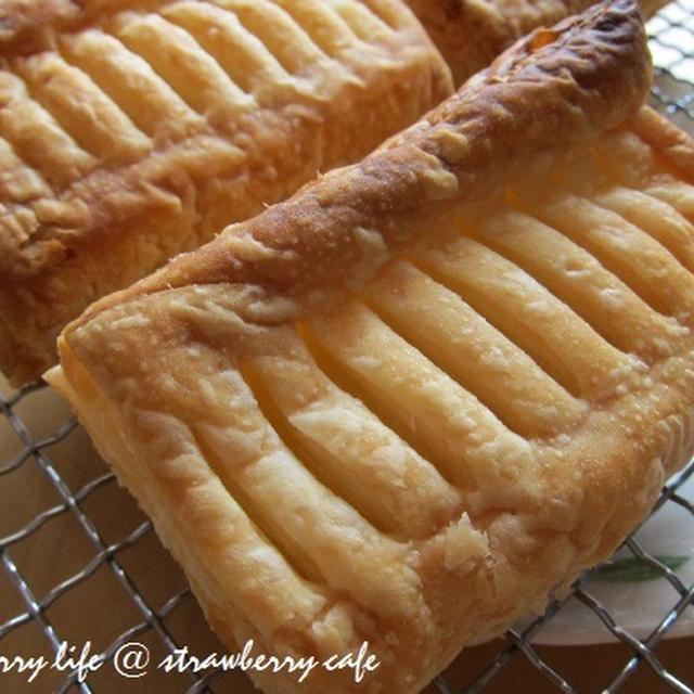 おうちベーカリー♪第1弾クリームチーズパイ!