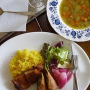 5月料理レッスン/スパイス料理はワンプレートに盛りつけて