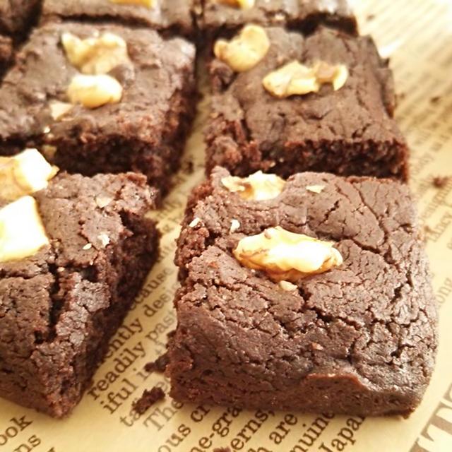 3step☆米粉のマクロビブラウニー《小麦・卵・バター・乳・チョコレート不使用・アレルギー対応》