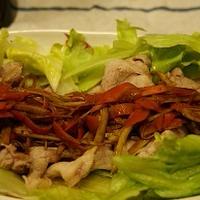 うまソースの食べる根菜ドレッシング