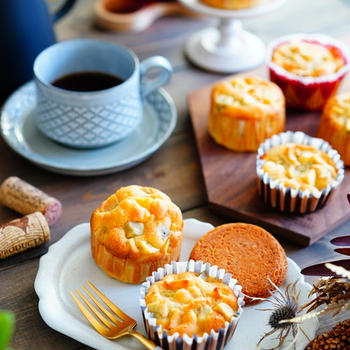 さつまいもの消費に!混ぜて焼くだけマフィン&ケーキのレシピ♪