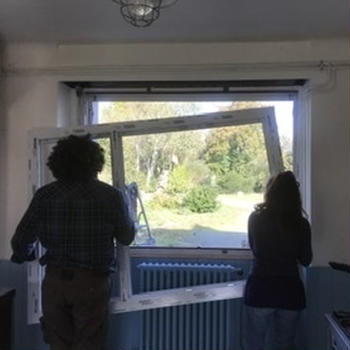 窓のリフォームを自分たちで。
