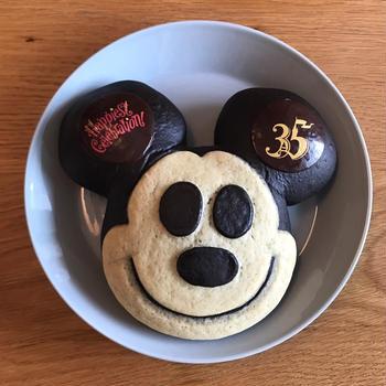 東京ディズニーランド35周年のミッキーパン◆スウィートハートカフェ♡