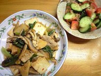 家常豆腐(ジャーヂャン豆腐)