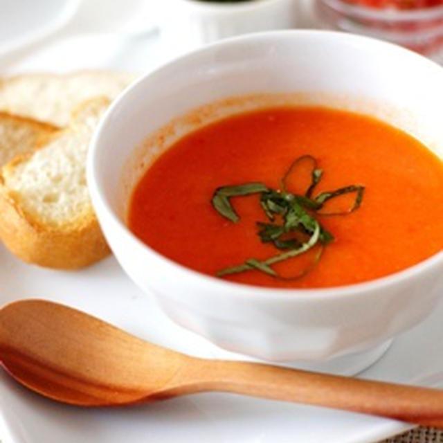 赤パプリカのスープ