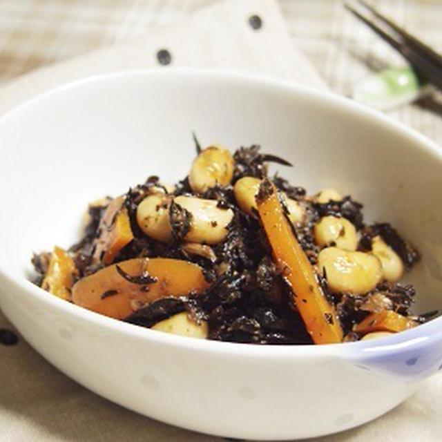 ツナとひじきの煮もの  上沼恵美子のおしゃべりクッキングレシピ