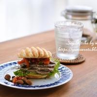 パンケーキバーガー