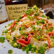 【レシピ】白菜とカニカマの無限ナムル