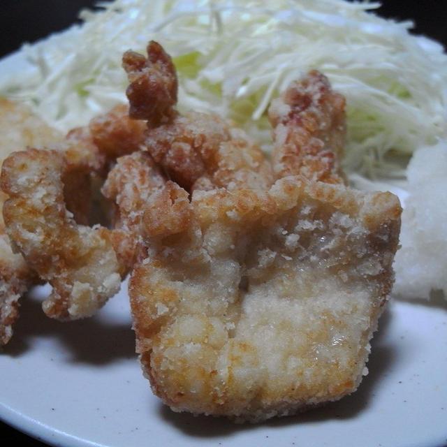 鶏の竜田揚げおろしシークヮーサーポン酢のレシピ